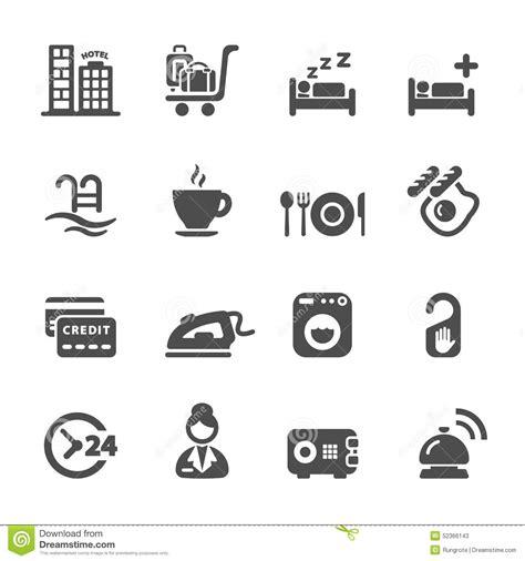 Hotel Service Icon Set 8, Vector Eps10 Stock Vector   Image: 52366143