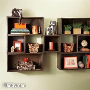 DIY Box Shelves The Family Handyman