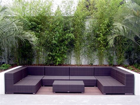 modern garden furniture for contemporary patio interior