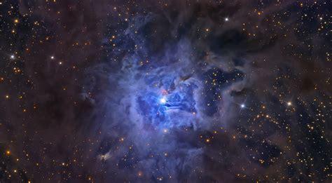 study  distant iris nebula yields clues   origin