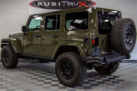 green jeep 2015 jeep wrangler rubicon unlimited tank green