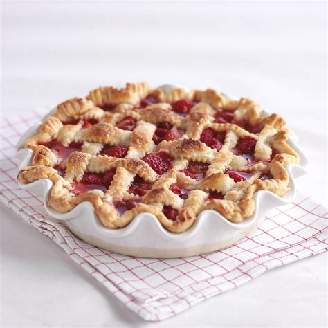 pies recipes strawberry raspberry pie recipe driscoll s