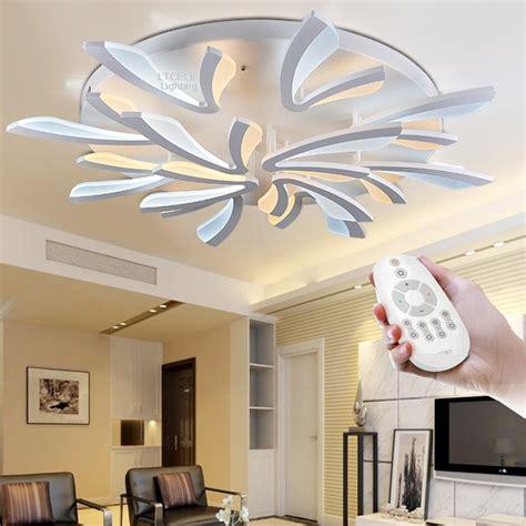 cheap pendant lights acrylic modern led ceiling lights for living room