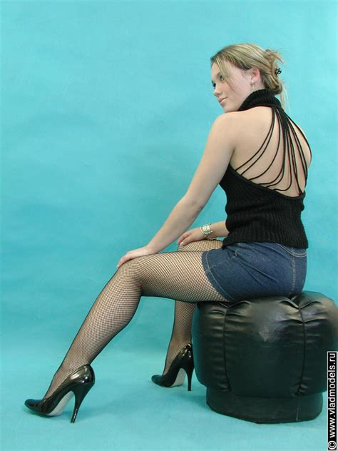 Pretty Teen In Pantyhose Stocking Sheer May 2012