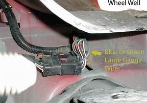 Completing Tow Package Wiring On 2006 Dodge Ram 2500 With
