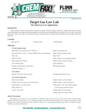 target gas law lab worksheet answers fill online printable fillable blank pdffiller