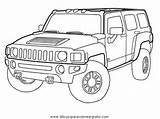 Hummer Coloring Disegno Colorare Automobili Drawing Kolorowanki Malvorlage Mezzi Trasporto H2 Samochody Malvorlagen Lastwagen Druku Disegni Jeep Sketch Kleurplaat Ausmalbilder sketch template
