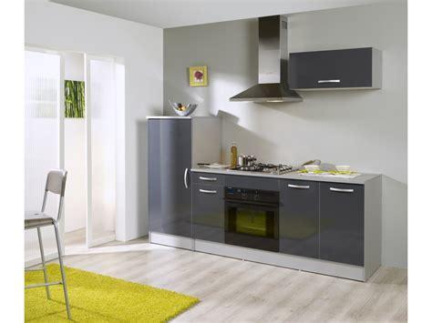 bloc cuisine bloc cuisine rumba coloris gris silver vente de 10 de