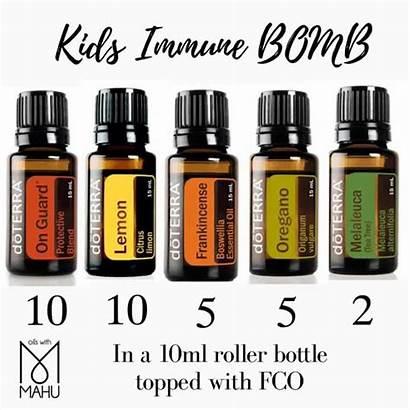Essential Oils Doterra Bomb Oil Flu Blends