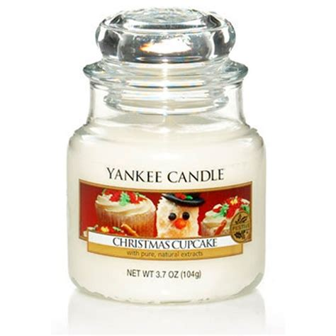 yankee candle christopher snowbrite yankee candle cupcake small jar thestore91