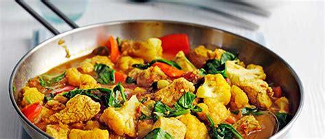 healthy chicken curry recipe olivemagazine