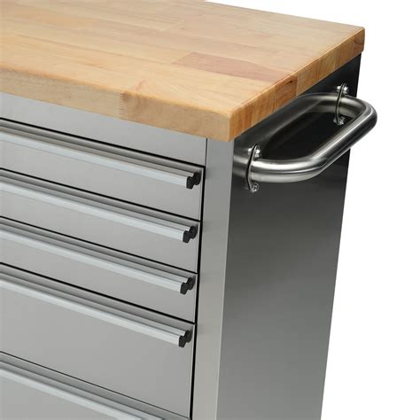 stainless steel  drawer work bench tool chest