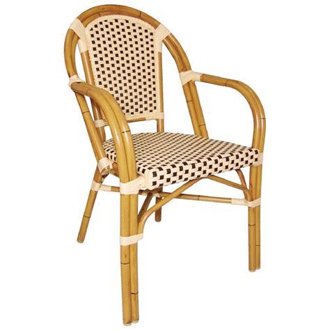 chaise bistrot rotin chaises en rotin bar avec accoudoirs gastromastro sas