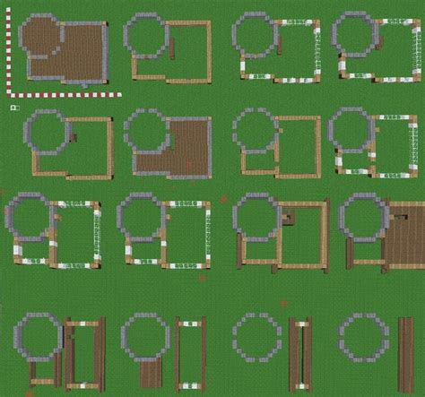 mincraft house blueprint     minecraft plans