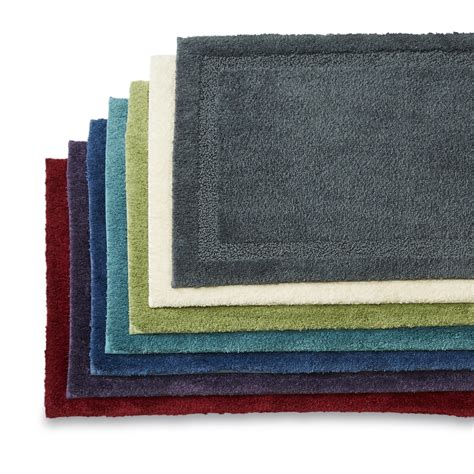 sears bath rugs and towels color stay bath rug