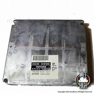 2000 Toyota Celica Gt Engine Computer M  T  U2013 20030  U2013 Mile
