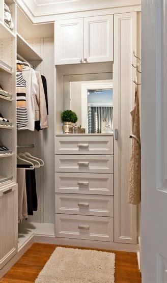 small walk in closet white chocolate textured