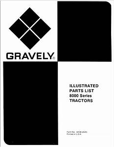 Gravely 8000 Series Parts Catalog For Tractors Download In