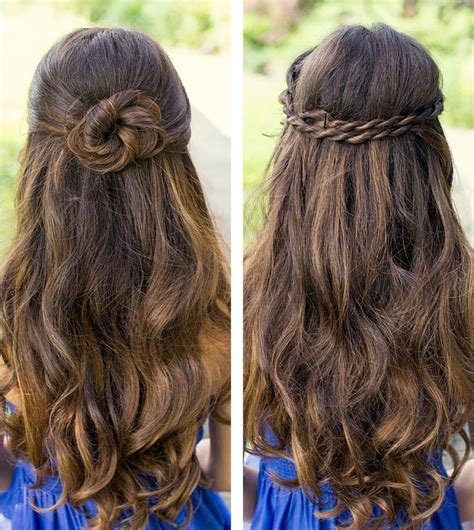simple but cute hairstyles for long hair glorious simple