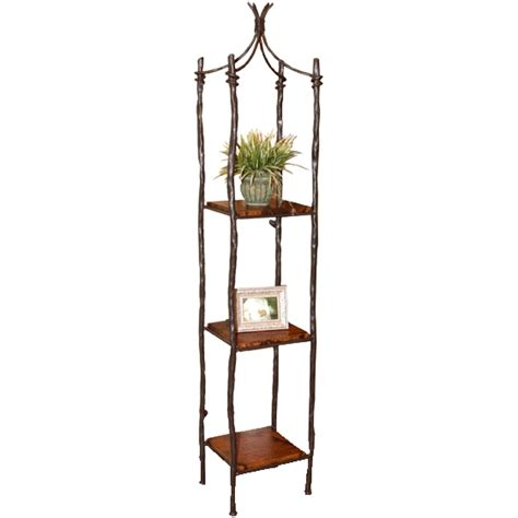 wrought iron etagere south fork single iron etagere timeless wrought iron