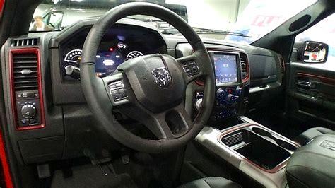 ram rebel interior  fast lane truck