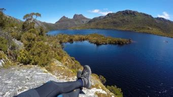 cradle mountain lake st clair national park discover