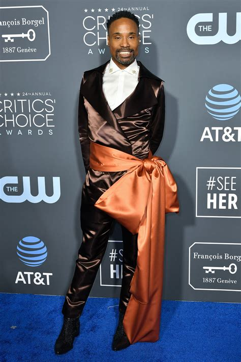 Exclusive Billy Porter New York Fashion Week Men