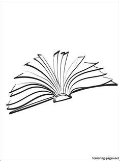 Open Book Clipart Black And White - Cliparts.co | ideas | Open book drawing, Open book tattoo