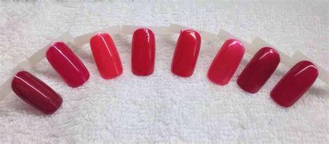 cnd reds crimson sash rose brocade lobster roll