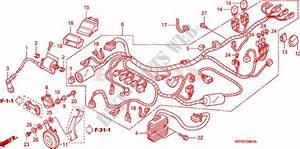 Wire Harness  Cbr125rw7  Rw9  Rwa  For Honda Cbr 125 Black