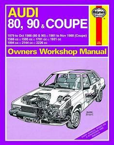 Haynes Manual Audi 80  90  U0026 Coupe Petrol  1979