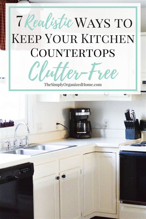 how to organize kitchen counter clutter 25 best ideas about organizing kitchen counters on 8769