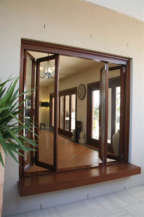 timber bi fold windows brisbane timber doors windows
