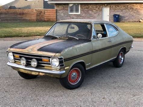 1968 Opel Kadett by 1968 Opel Kadett Rallye Runs Drives Project W Parts