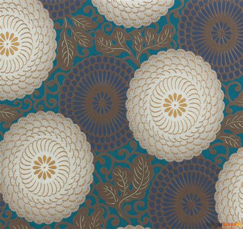 Ornament Tapete Türkis by Tapete Rasch 759082 Chelsea Vliestapete Retro Ornamente