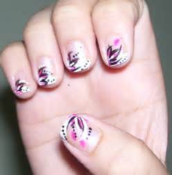 Very easy nail art for short nails how you can do it at