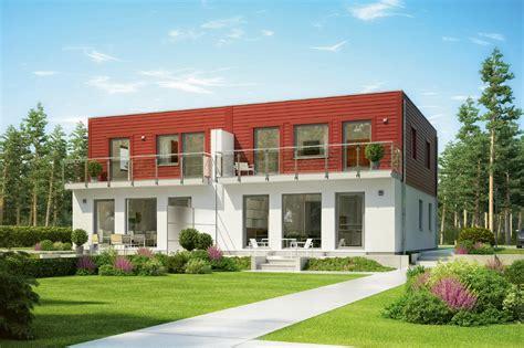 Moderne Häuser Frankreich by Doppelhaus Mit Flachdach D 20 129 1 Schw 246 Rerhaus