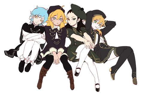 Mitsuki, Boruto, Shikadai, And Inojin