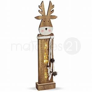 Holz Dekoration Modern : elch weihnachtsdeko holz deko willkommen led beleuchtung 53x14x5 cm kaufen matches21 ~ Sanjose-hotels-ca.com Haus und Dekorationen