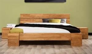 Bois De Lit : chevet en bois pour lit adulte 160x200 en ch ne massif tokyo haut ~ Teatrodelosmanantiales.com Idées de Décoration