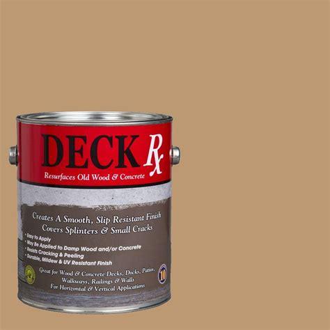 deck rx 1 gal sandstone wood and concrete exterior