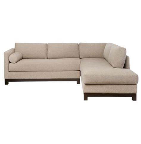 Cisco Sofa by Cisco Brothers Cosmo Modern Linen Sofa Sectional