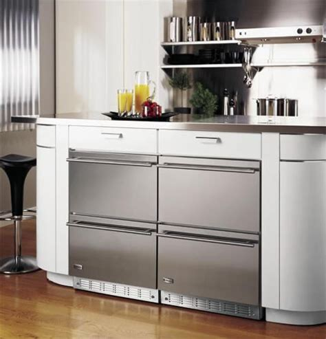 full extension   refrigerated drawers  double drawer  counter
