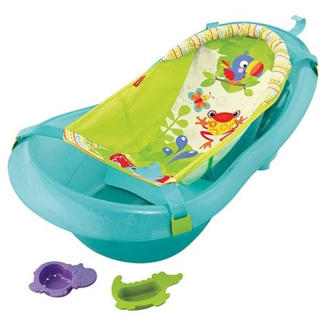 fisher price 174 baby bath tub ocean blue target