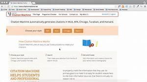 mla in text citation website generator