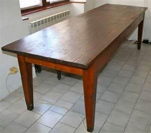 Table De Ferme Ancienne MEUBLES DCORATION TABLES
