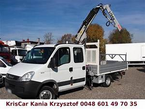 Iveco Daily 35c15 : iveco daily 35c15 50c15 hds crane kran 7 seats open body delivery van from poland for sale at ~ Gottalentnigeria.com Avis de Voitures