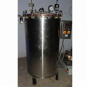 Psi Stainless Steel Vertical Autoclave  2