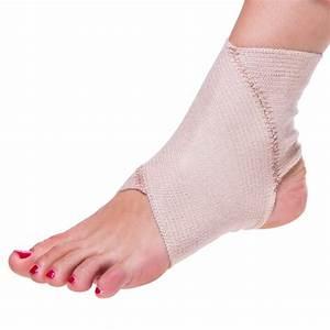 BraceAbility Elastic Foot Support Wrap | Ankle Bandage