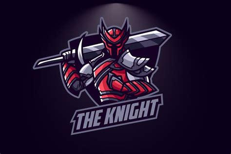 knight esport logo  suhandi  envato elements
